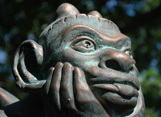 The Spitting Gargoyle of Notre Dame